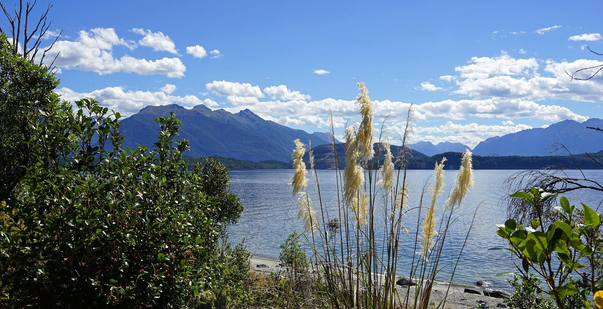 Lake Te Anau, New Zealand